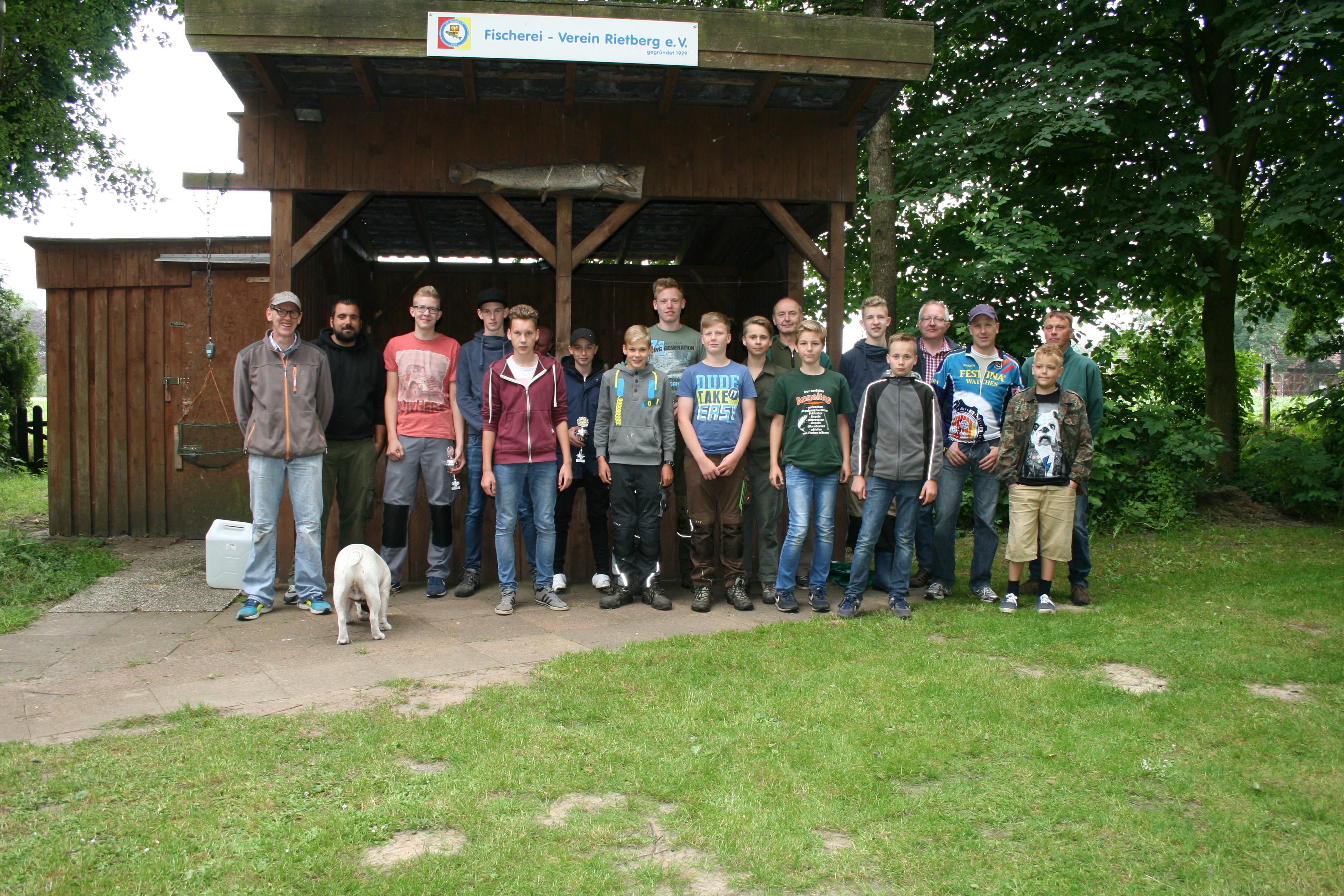 Jugendtreffen 2016 am Kammermann´s See mit : Mastholte, Westerwiehe und Rietberg / Foto Quelle: Katarzyna Drzisga