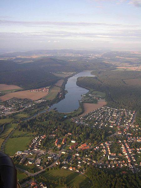 Luftbild Schiedersee
