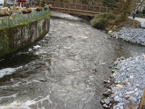 Einlauf Fischtreppe